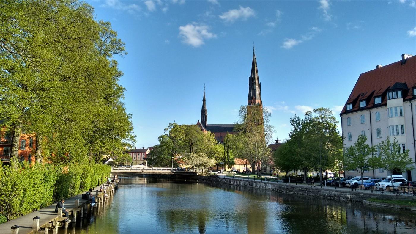Uppsala; Spring; Sweden; River; Fyrisan